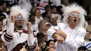 Phoenix Coyotes fans