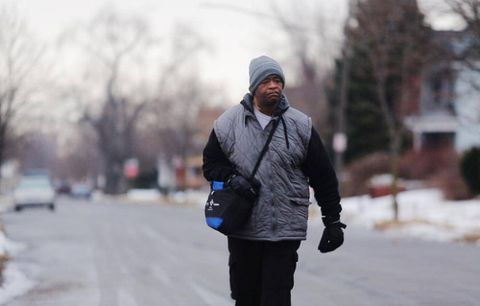 Thousands of dollars raised for Detroit man who walks 34 kilometres to and from work