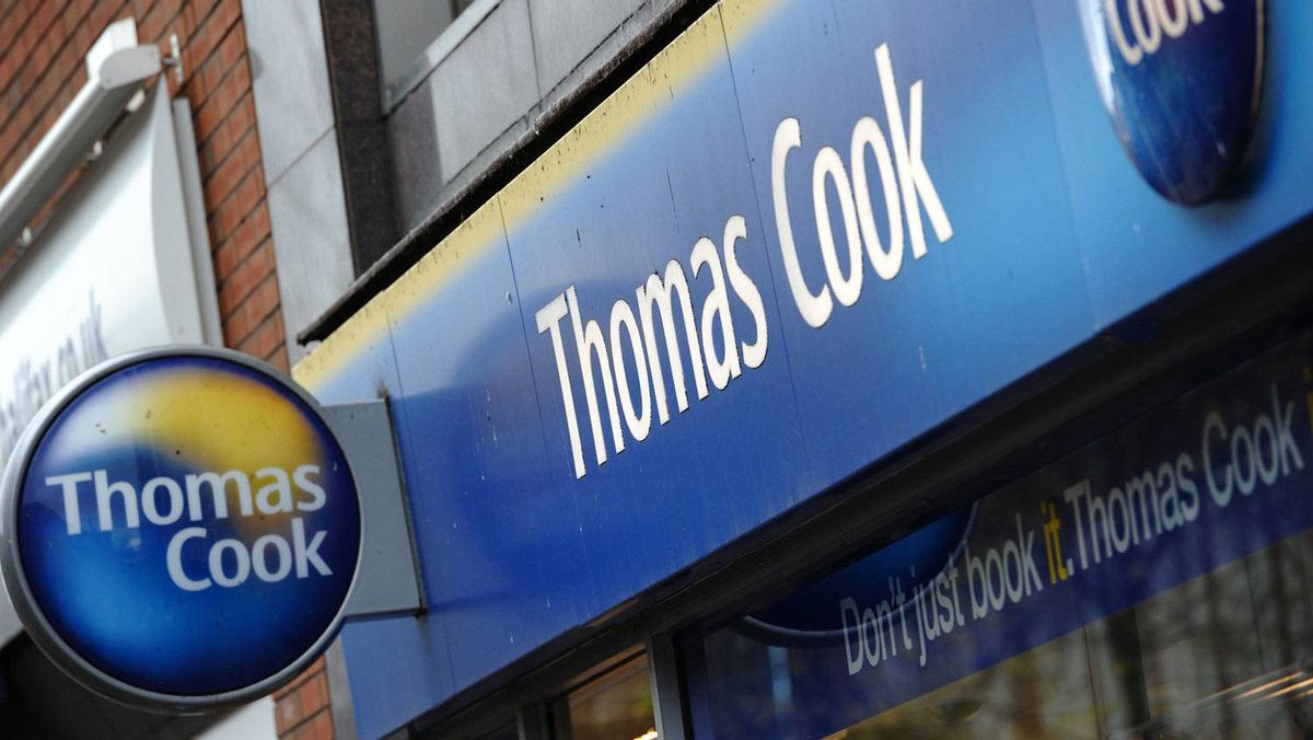Shares in Thomas Cook crashed 75 per cent on Tuesday as the British travel firm said it was renegotiating its debts and delaying the release of its annual results after a sharp deterioration in business.