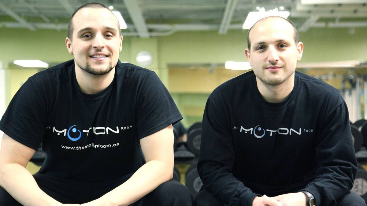 Co-owners of the Motion Room, Joseph Martino and James Capellano