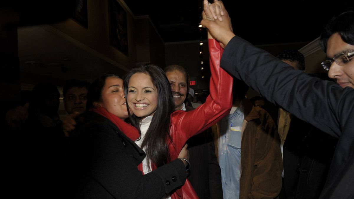 Ruby Dhalla, the Liberal incumbent in the riding of Brampton-Springdale, was unable to hold on to her seat, losing to Conservative candidate Parm Gill.