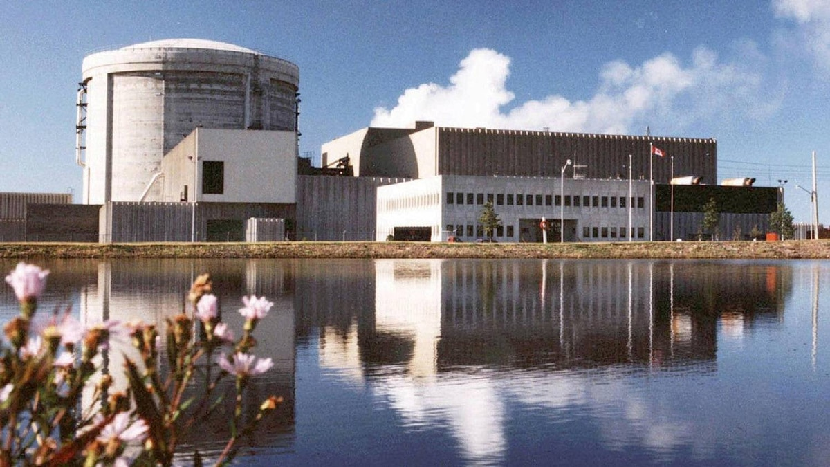 Point Lepreau nuclear station is seen in this undated photo.