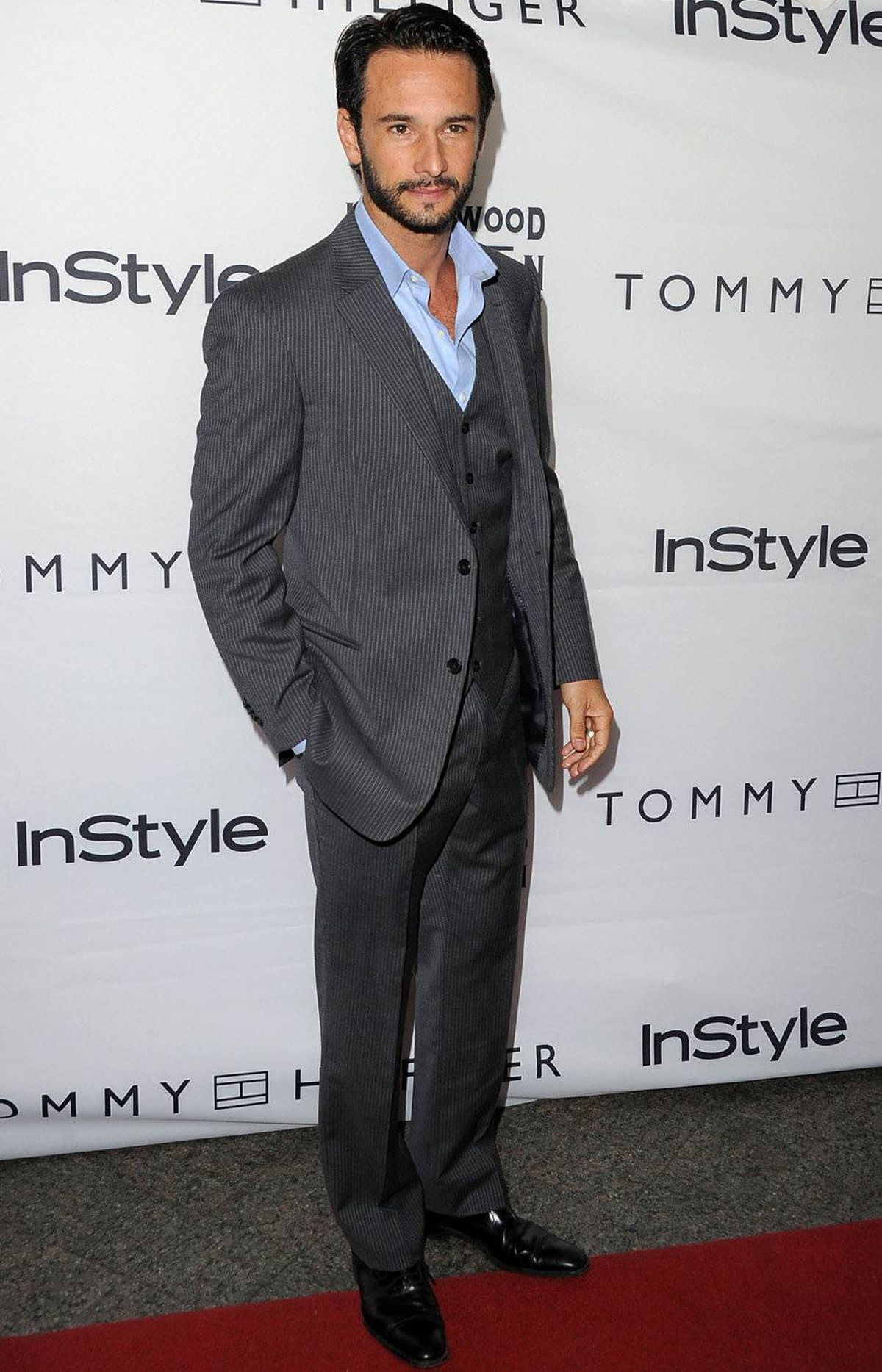 Actor Rodrigo Santoro arrives at the InStyle And The Hollywood Foreign Press Association's Annual Event during the 2011 Toronto International Film Festivalat Windsor Arms Hotel on September 13, 2011 in Toronto.