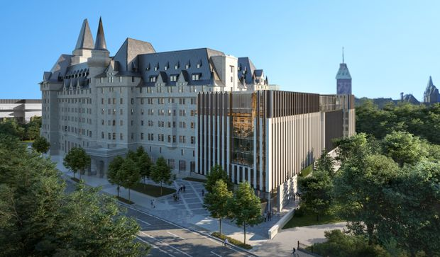 Who can save the Chateau Laurier from a horrendous eyesore addition?