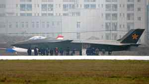 What is reported to be a Chinese stealth fighter, is seen in Chengdu, Sichuan province, January 5, 2011. The U.S. military believes the aircraft is a J-20 stealth fighter prototype. The picture was supplied by Kyodo news agency on January 6, 2011.