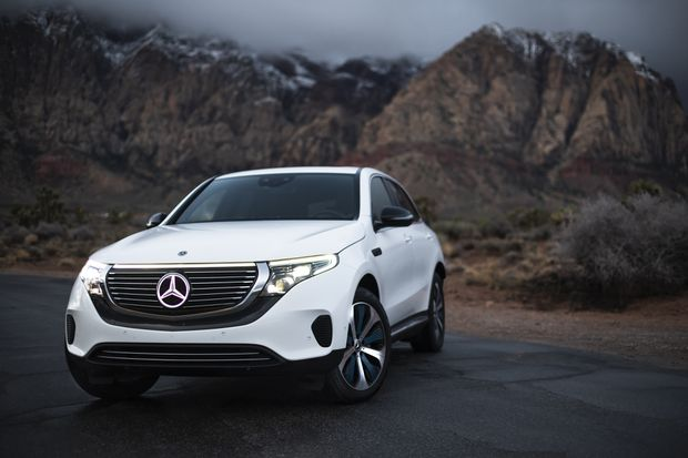 It S Clear That Mercedes Benz Is Trying To Make A Ful Splash With Its First Real All Electric Vehicle