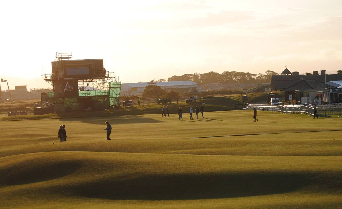 Tuesday on the Old Course, St. Andrews