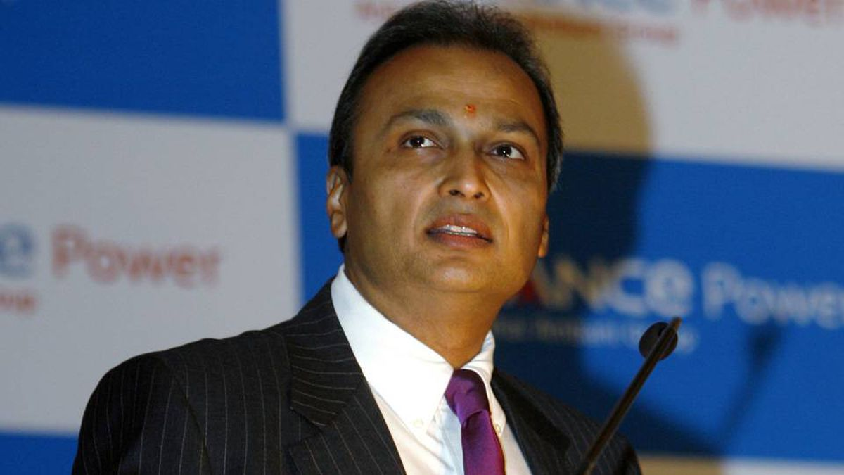 Indian billionaire and Reliance Comm controlling shareholder Anil Ambani.