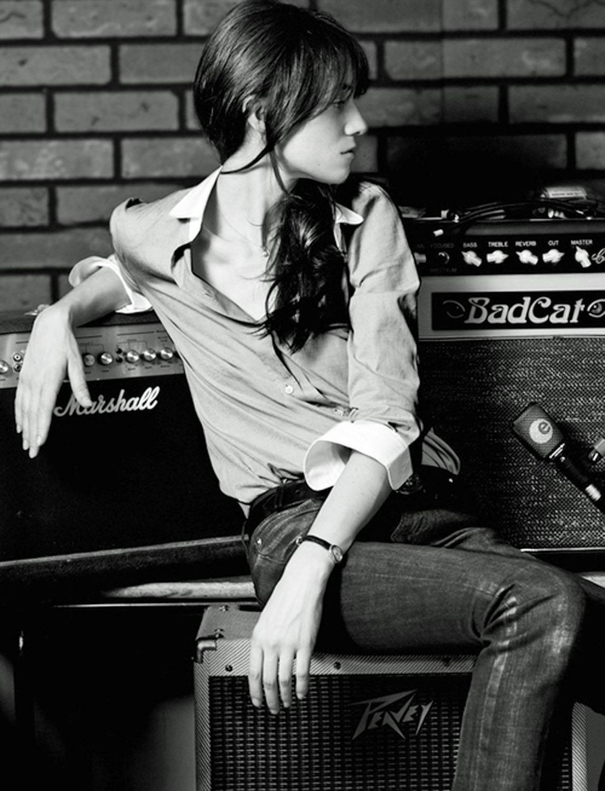 Charlotte Gainsbourg is gaining hipster cachet in both film and music.