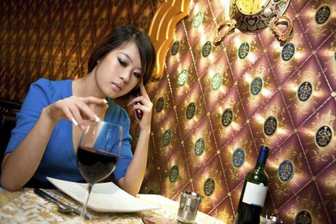 Would you eat in a restaurant that seats only solo diners?
