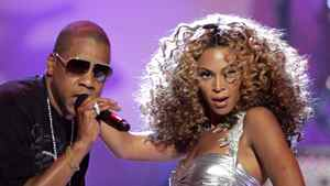 Jay-Z and Beyonce perform at the 2006 BET Awards at the Shrine Auditorium in Los Angeles June 27, 2006.