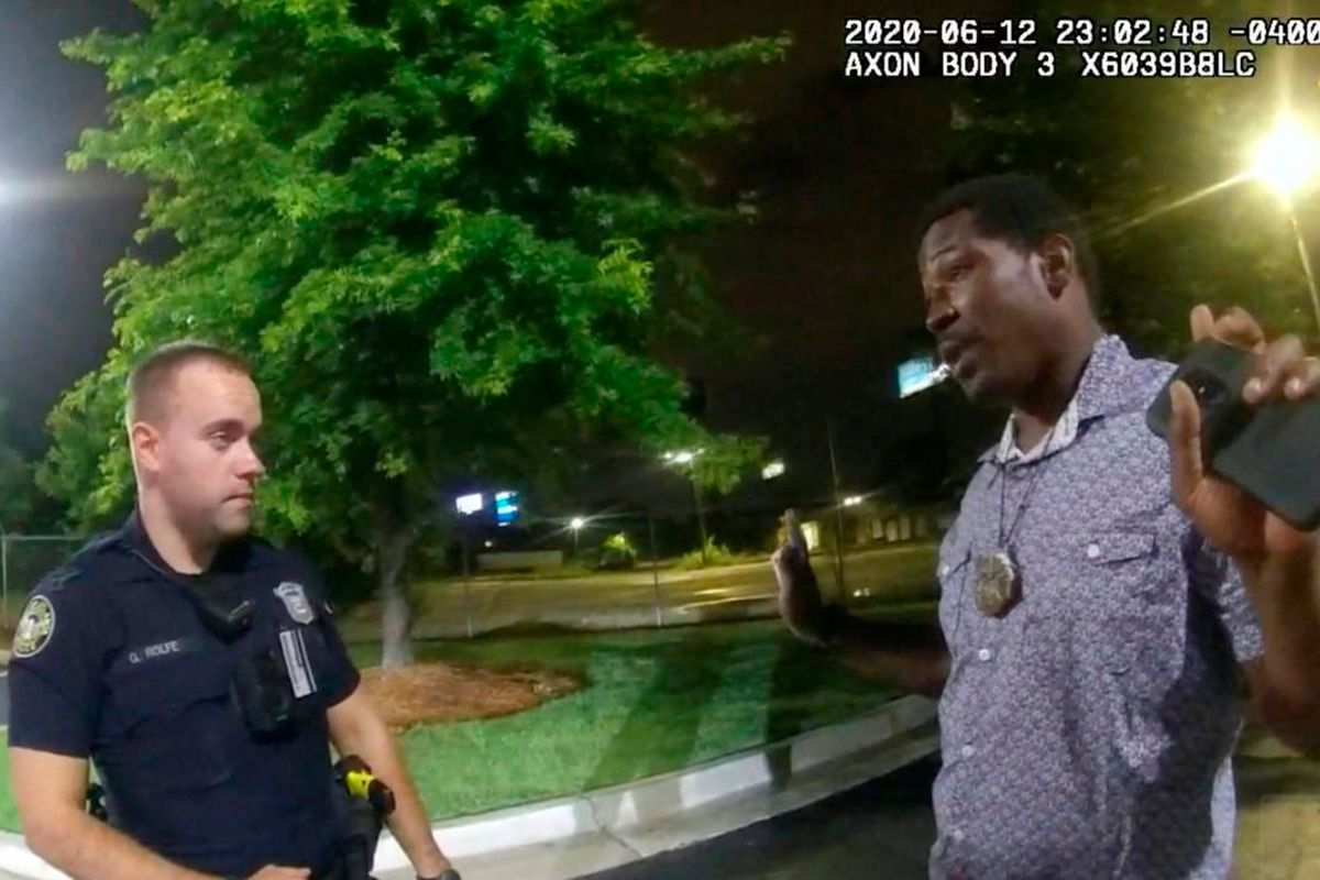 Atlanta officer who shot Rayshard Brooks charged with felony murder