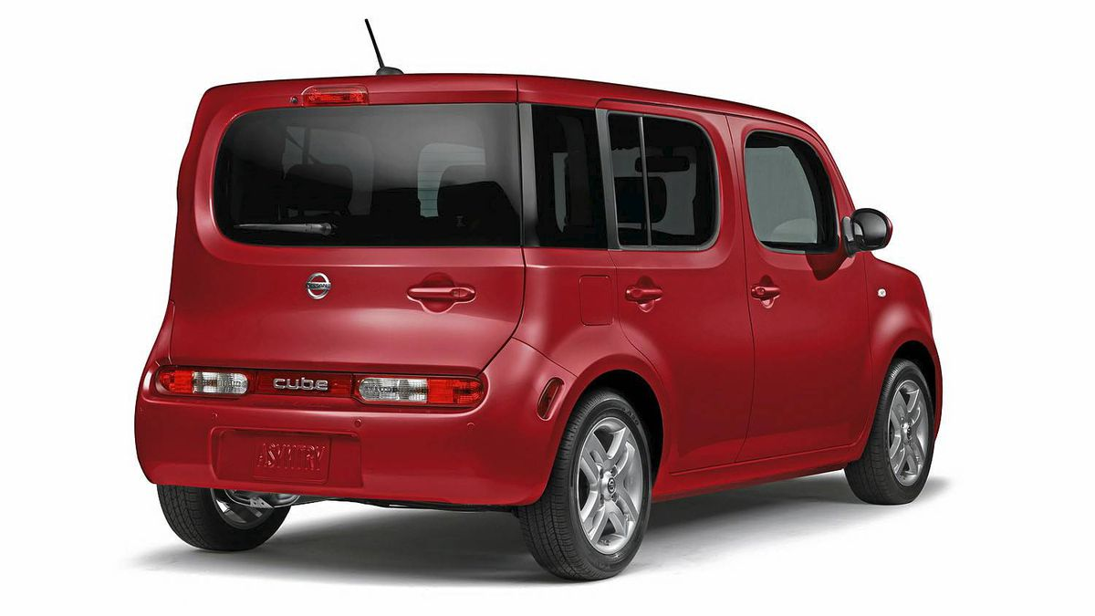 2010 Nissan Cube Credit: Nissan
