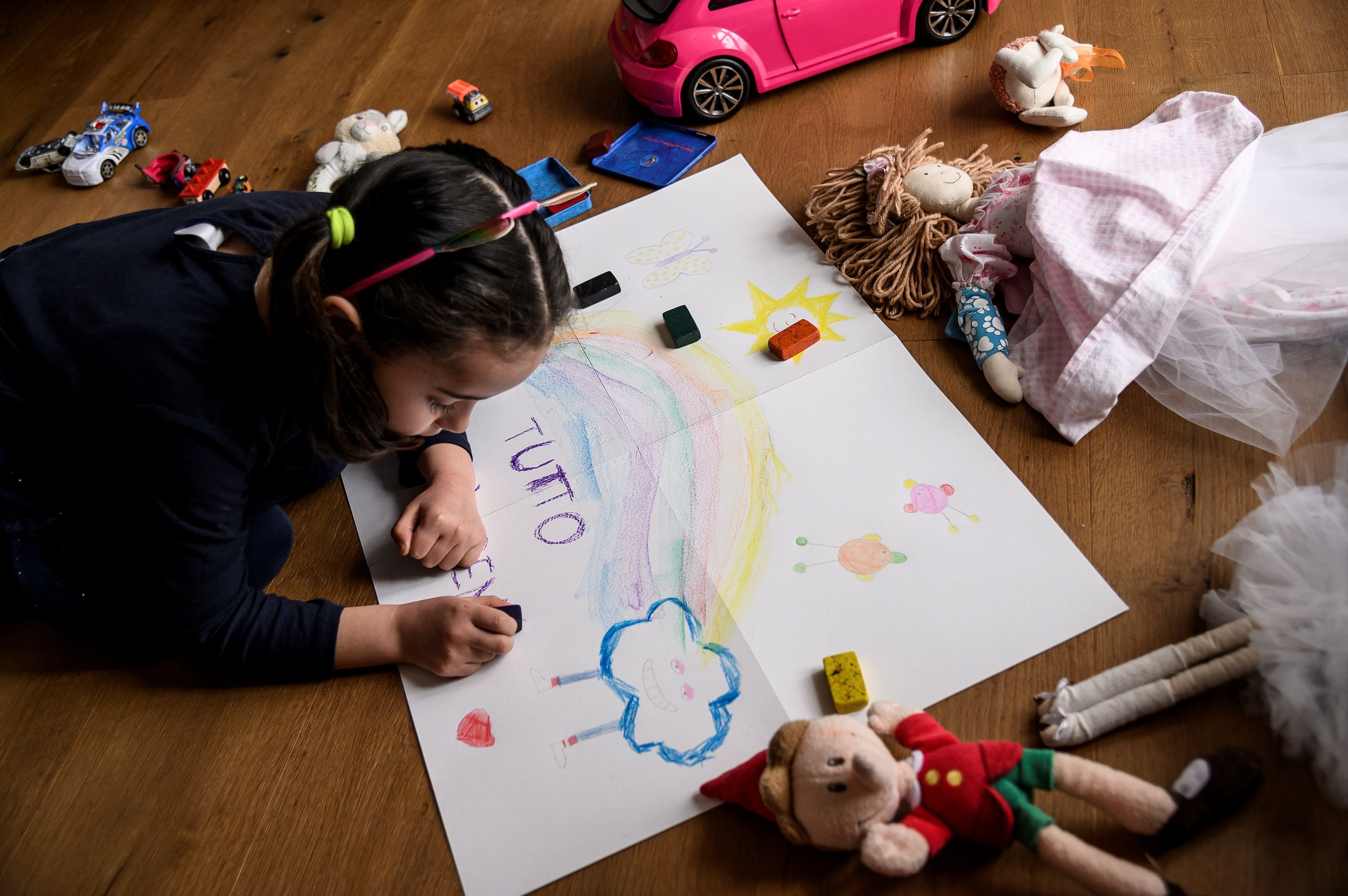 A Parent-Child Activity KIT For the Car Learn Italian Together