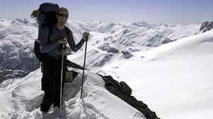 A guided trip on the Spearhead Traverse costs $545 with Whistler Alpine Guides Bureau