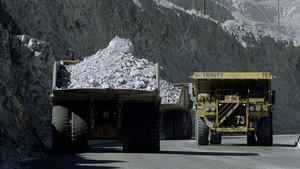 Copper mining in B.C.