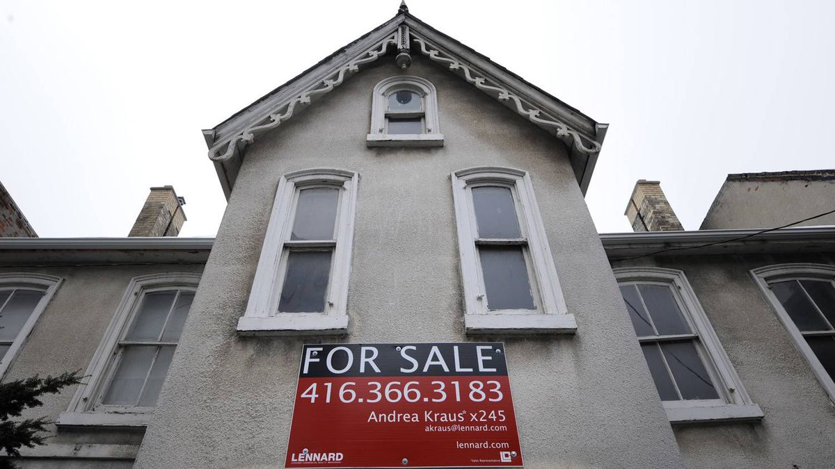 Real estates sales in Canada's largest city fell 34 per cent in July compared to a year ago.