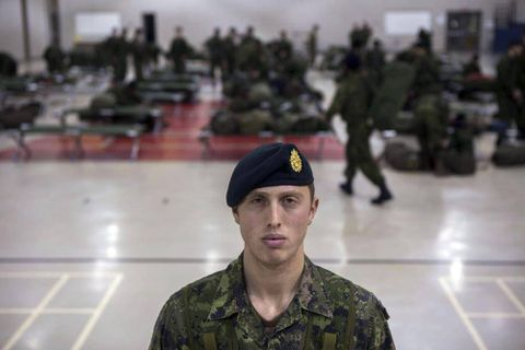 My rookie year training to be a reservist in Canada's infantry