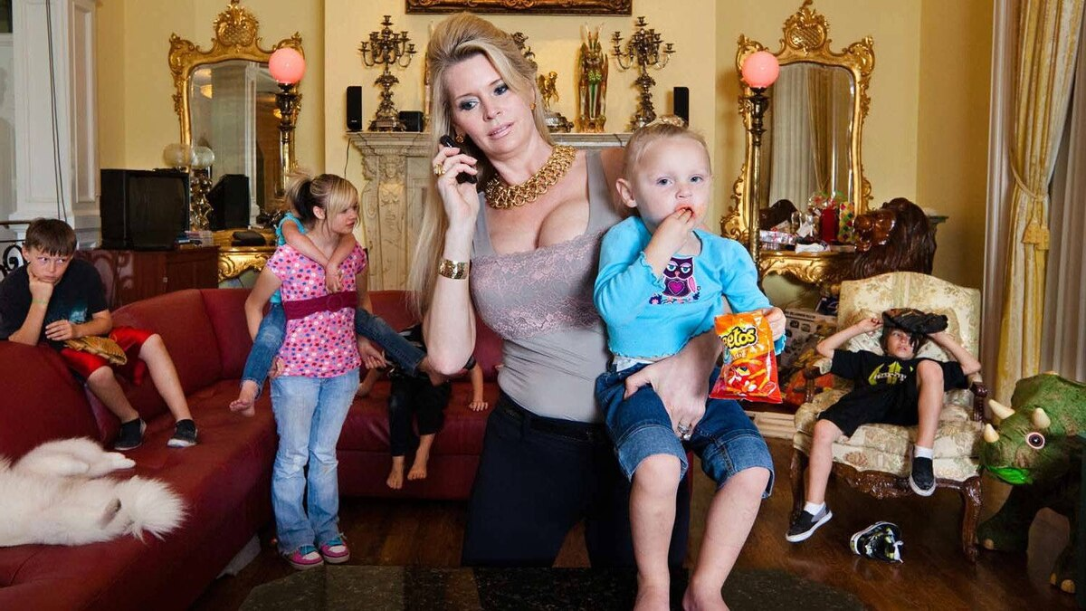"""A scene from the documentary """"The Queen of Versailles"""""""