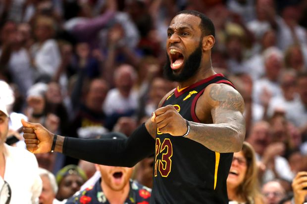 2a2833d5160c LeBron James comes up big as Cavaliers beat Celtics to force Game 7 ...