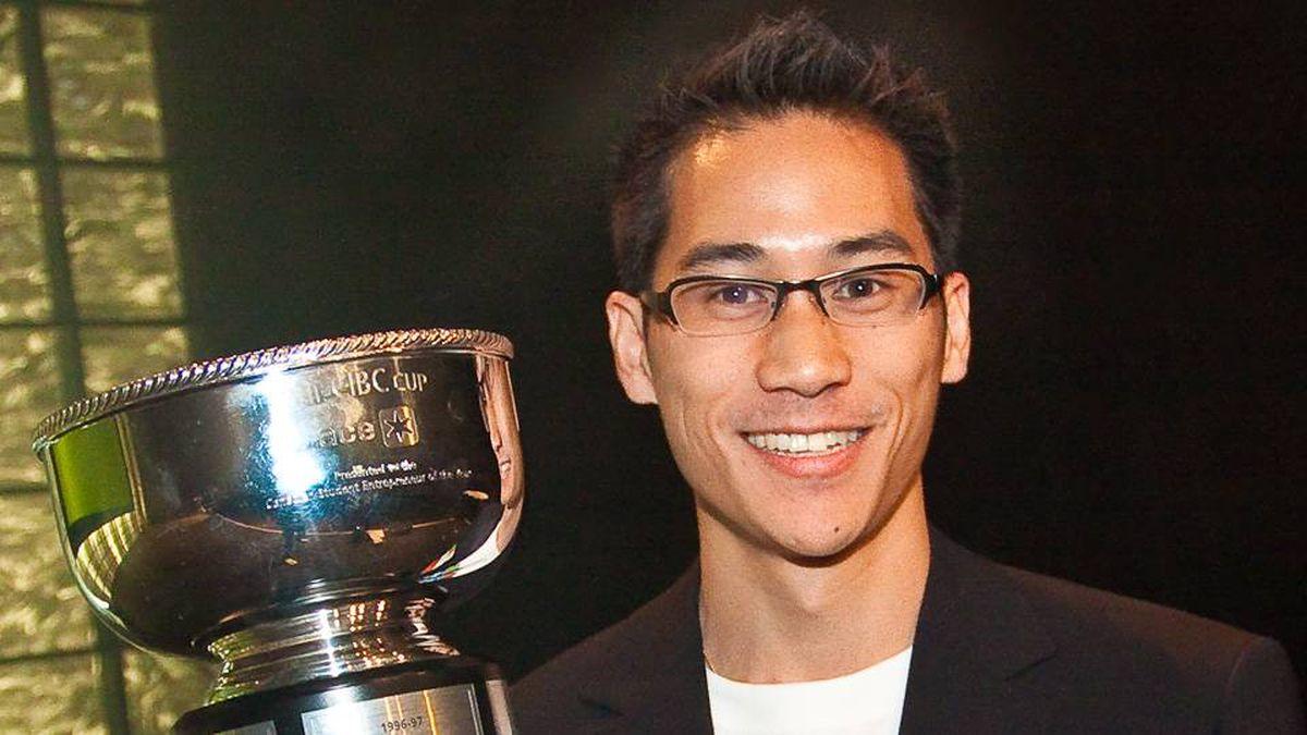 Vincent Cheung, ACE student entrepreneur awards national champion.