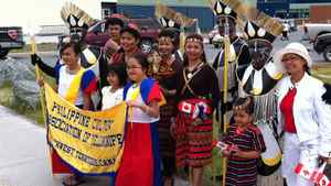 The Philippine community in Yellowknife celebrate Canada Day in style.