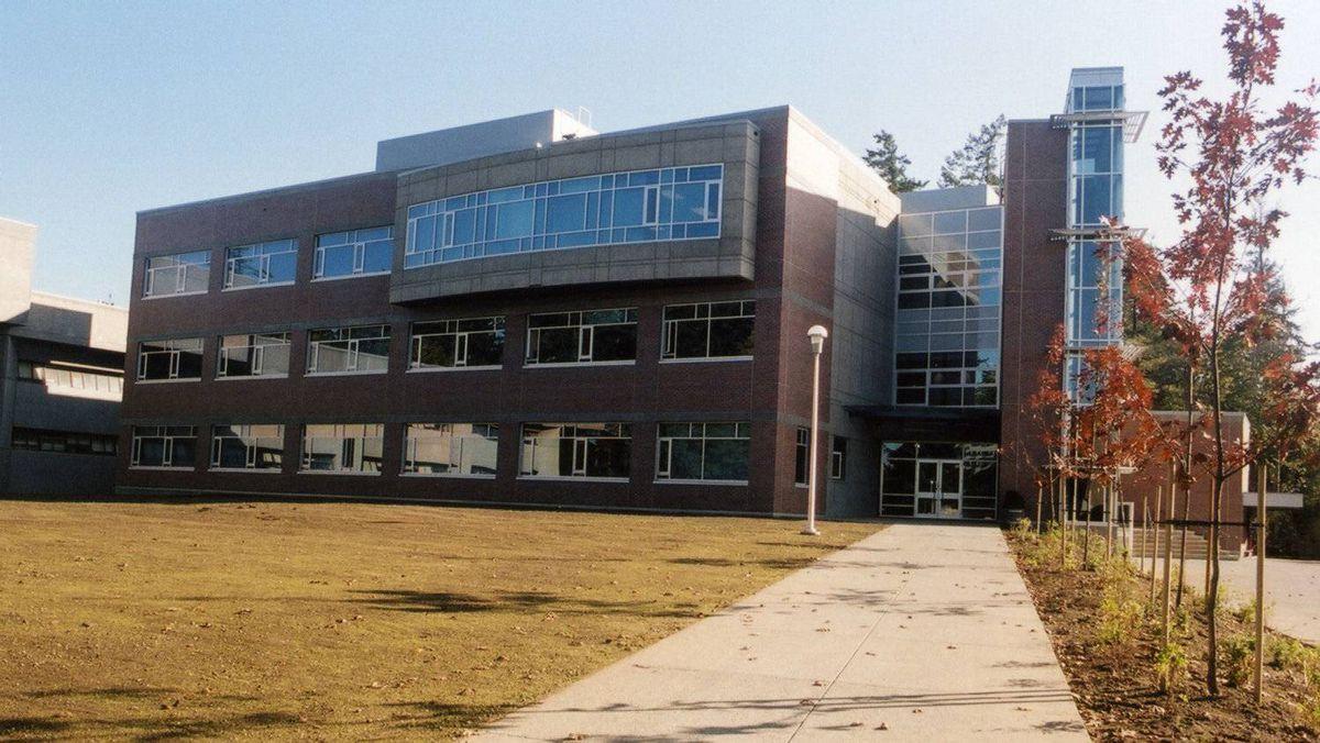 The University of Victoria campus.