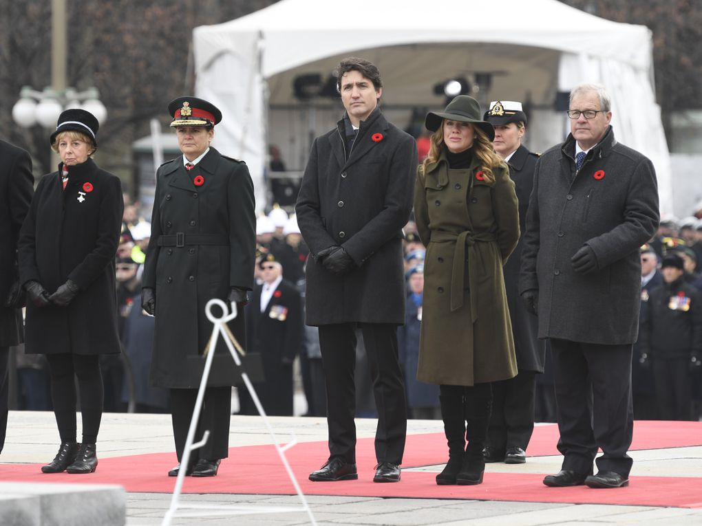 In photos: Remembrance Day ceremonies across Canada to honour those we've lost - The Globe and Mail