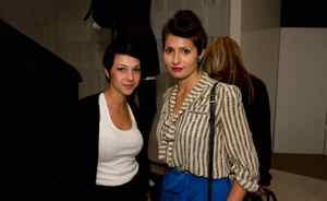 Kira Crugnale (left) and Elli Stuhler