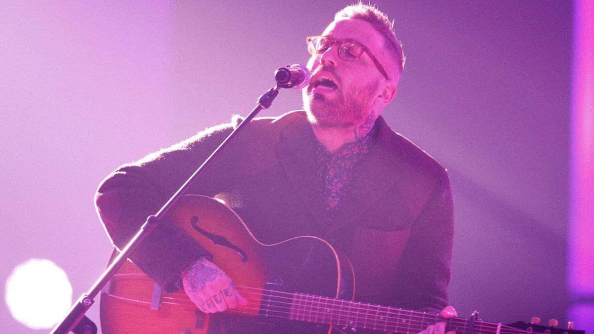 Dallas Green performs during the Juno Awards in Ottawa, Sunday April 1, 2012.