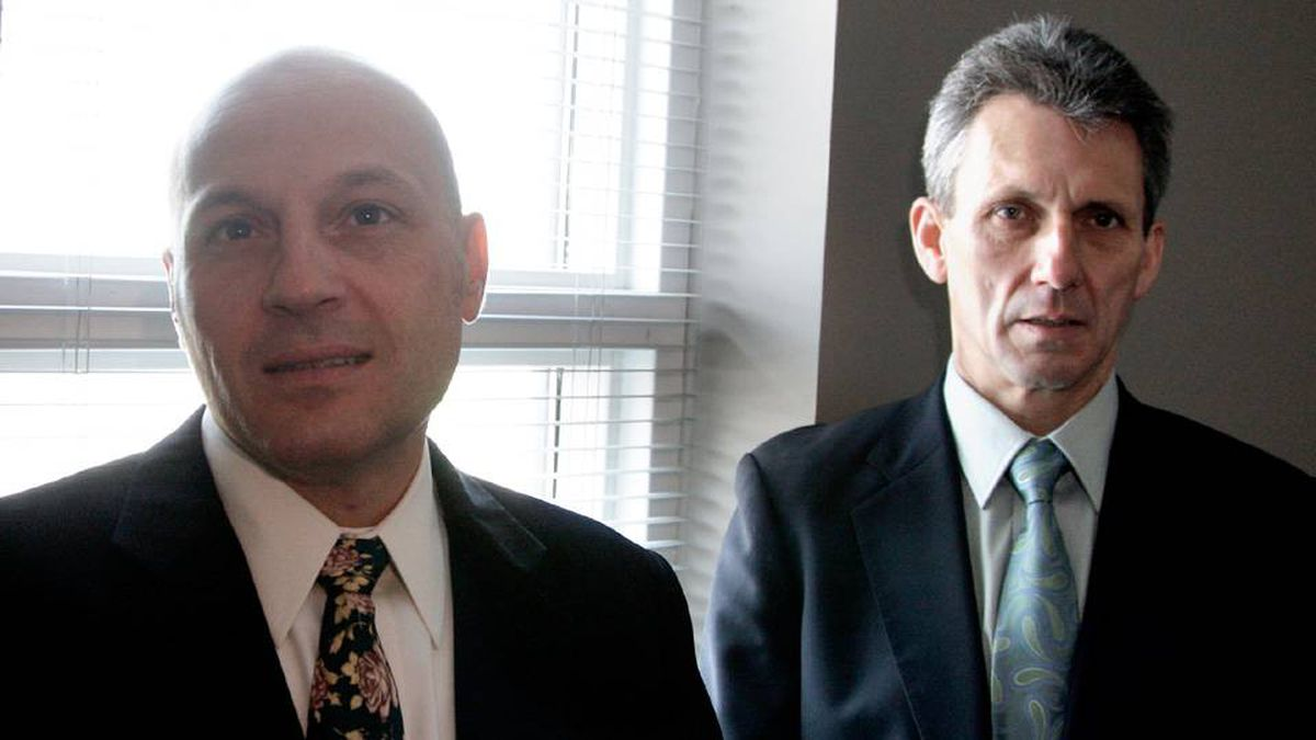 Joseph Iuso CEO and founder, and Brian Crozier, UseMyBank, photographed at their offices on Dufferin Street in Toronto.
