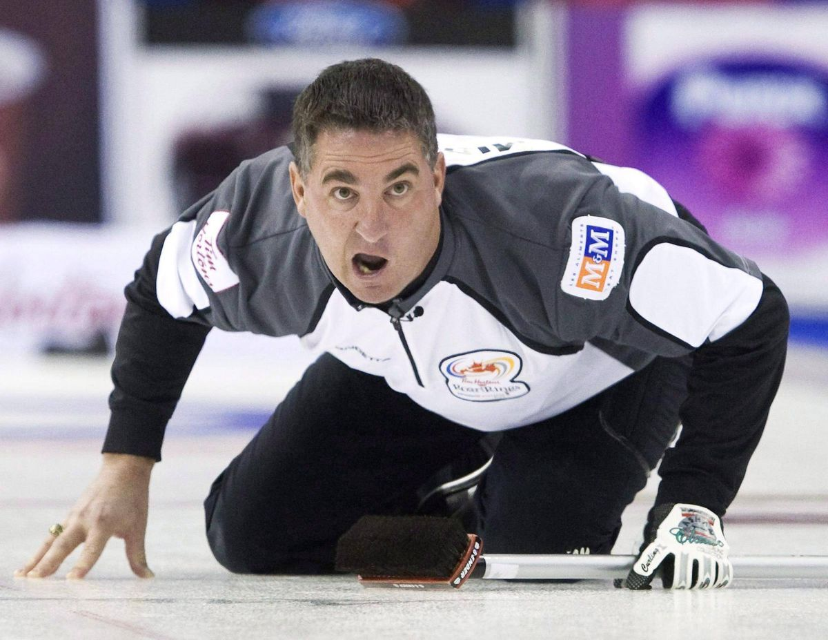 wayne middaugh easily glides back into curling after year
