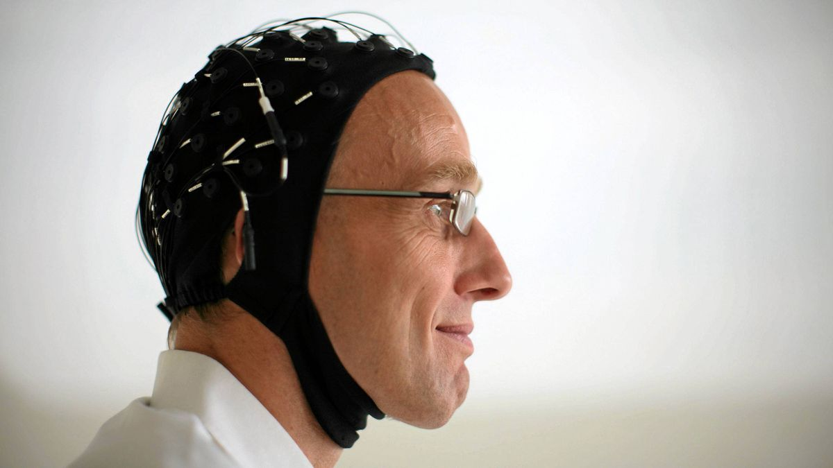 Neuroscientist Georg Northoff scans brains of patients who have attempted suicide.