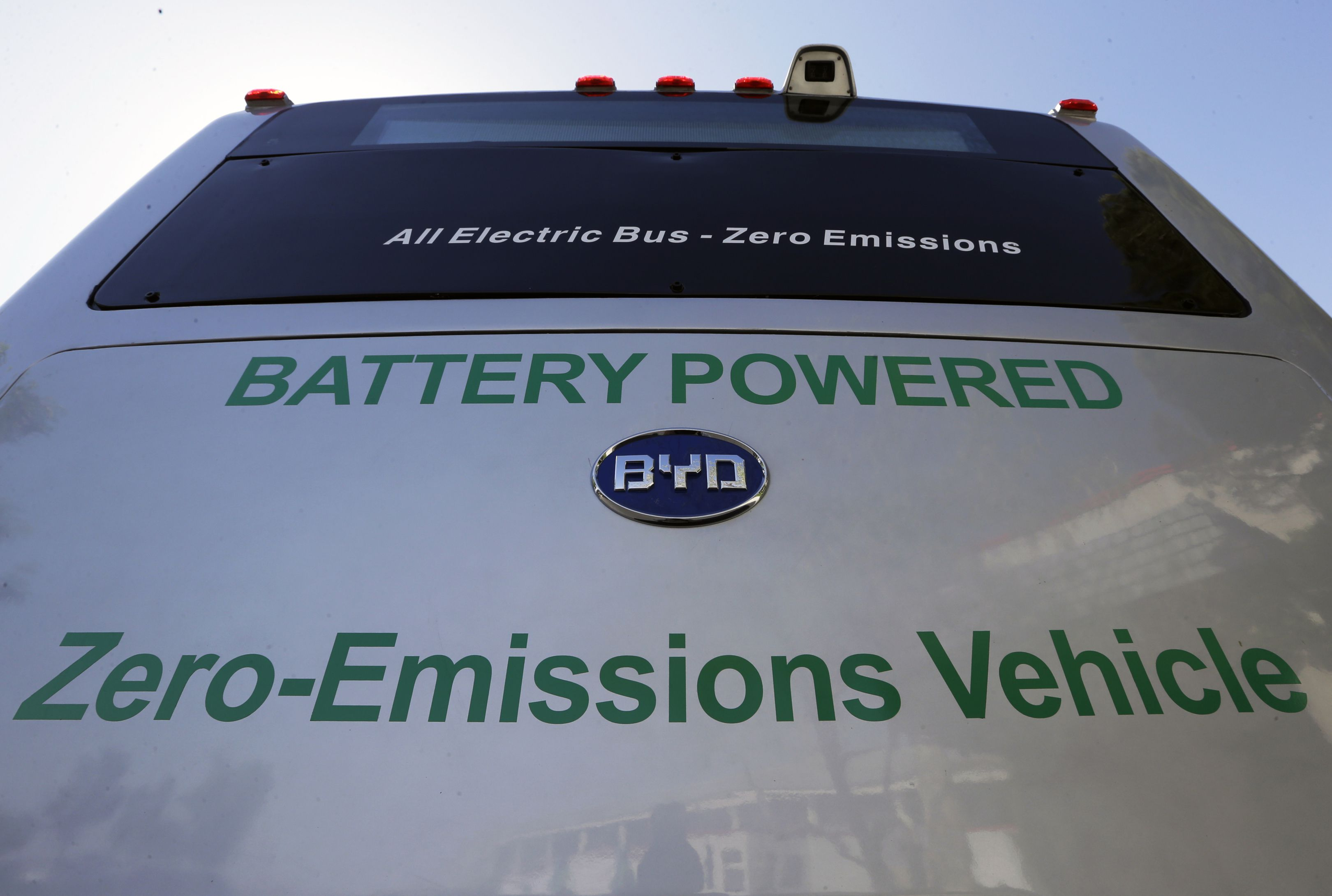 Chinese electric-car firm BYD opens Ontario plant, making buses for