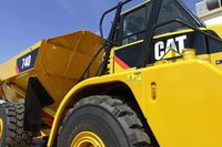 Heavy equipment dealer Toromont Industries reported Wednesday that it earned higher revenue but lower profits in the first quarter.