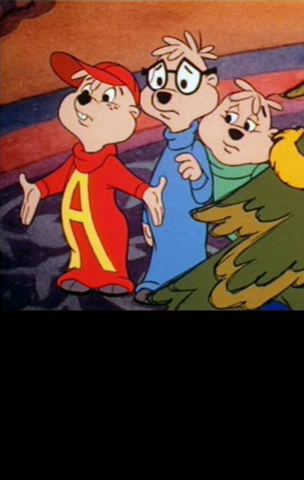 FAMILY A Chipmunk Christmas ABC, 8:30 p.m. If the little ones haven't conned you into taking them to see Alvin and the Chipmunks: Chip-Wrecked, this holiday cartoon might buy you some time. Of course the kids will immediately realize that the 1981 special is far less imaginative than the current incarnation of the Chipmunks, which were originally created for a novelty song way back in 1958. The minimalist plotline has the singing rodent trio booked for a high-profile appearance at Carnegie Hall – but only if they can locate Alvin's missing harmonica. Not as slick as the movie, but still pretty cute.