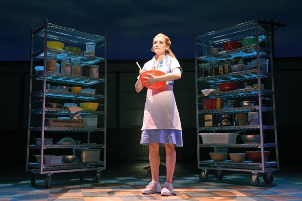 Waitress is an artful movie-turned-musical about pie and domestic abuse