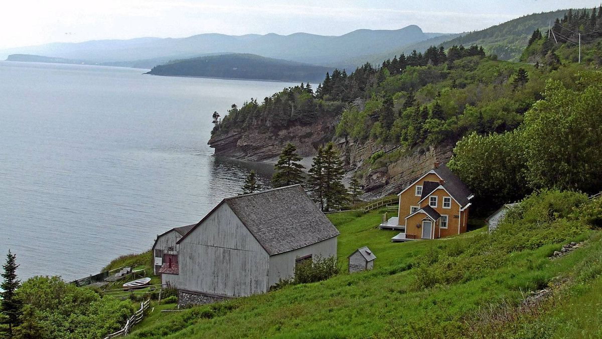 "Reader Allan Rix writes: ""In June 2010 my wife and I went to the Gaspésie for the first time. Our visit to Forillon National Park was very moving for us as we learned a great deal. The park at Forillon preserves not only the natural environment but also the cultural environment of an earlier time."""