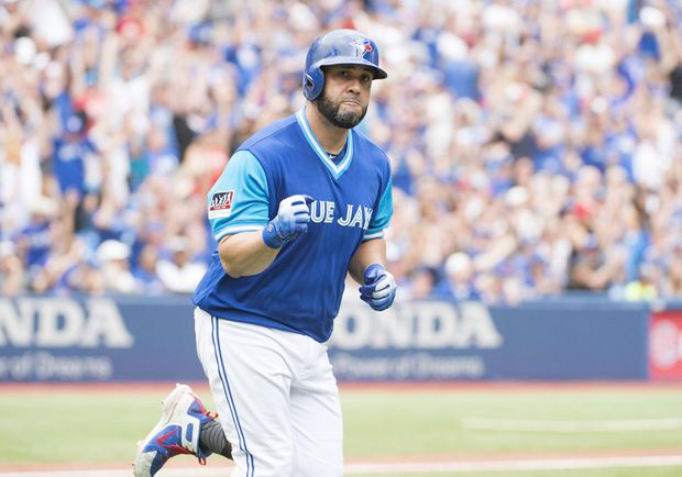 Kendrys Morales homers in seventh consecutive game
