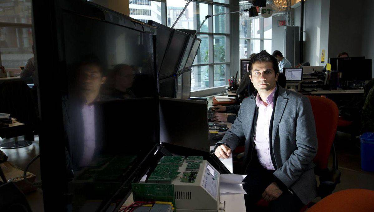 Ali Ghafour, founder and chief technology officer of Viafoura Inc.