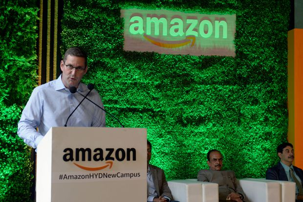 Amazon opens Hyderabad campus