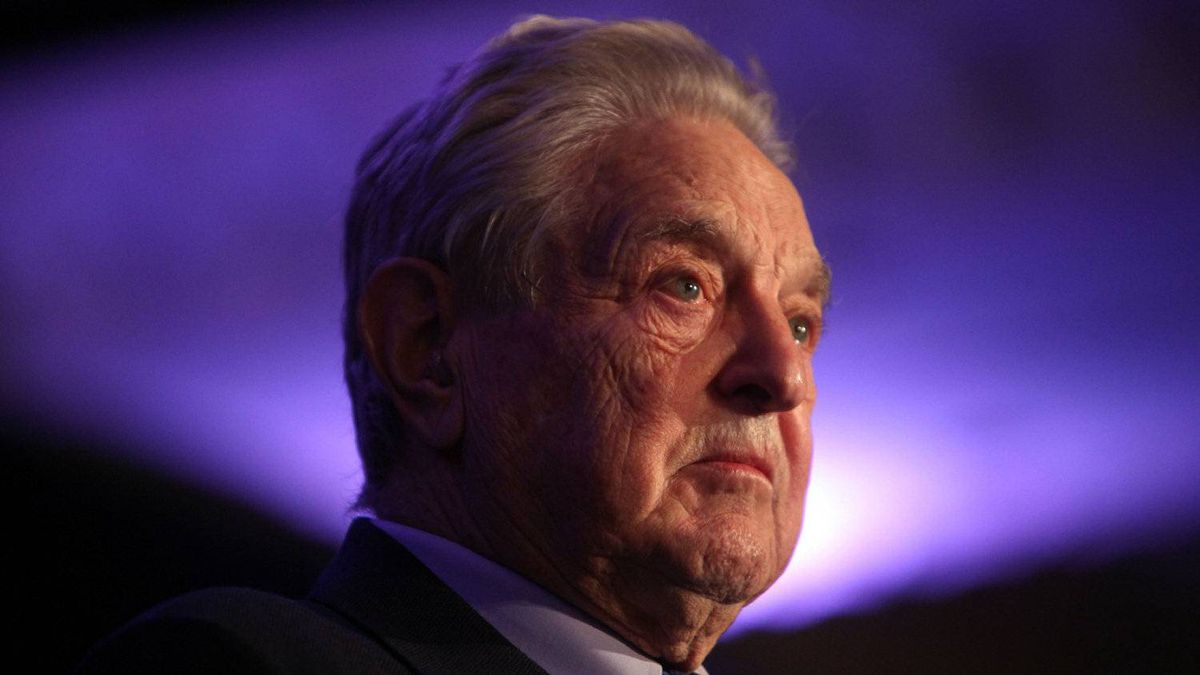 Billionaire investor George Soros is seen here at the Canada International Council annual dinner where Soros received the Globalist of the Year award Nov. 15, 2010.