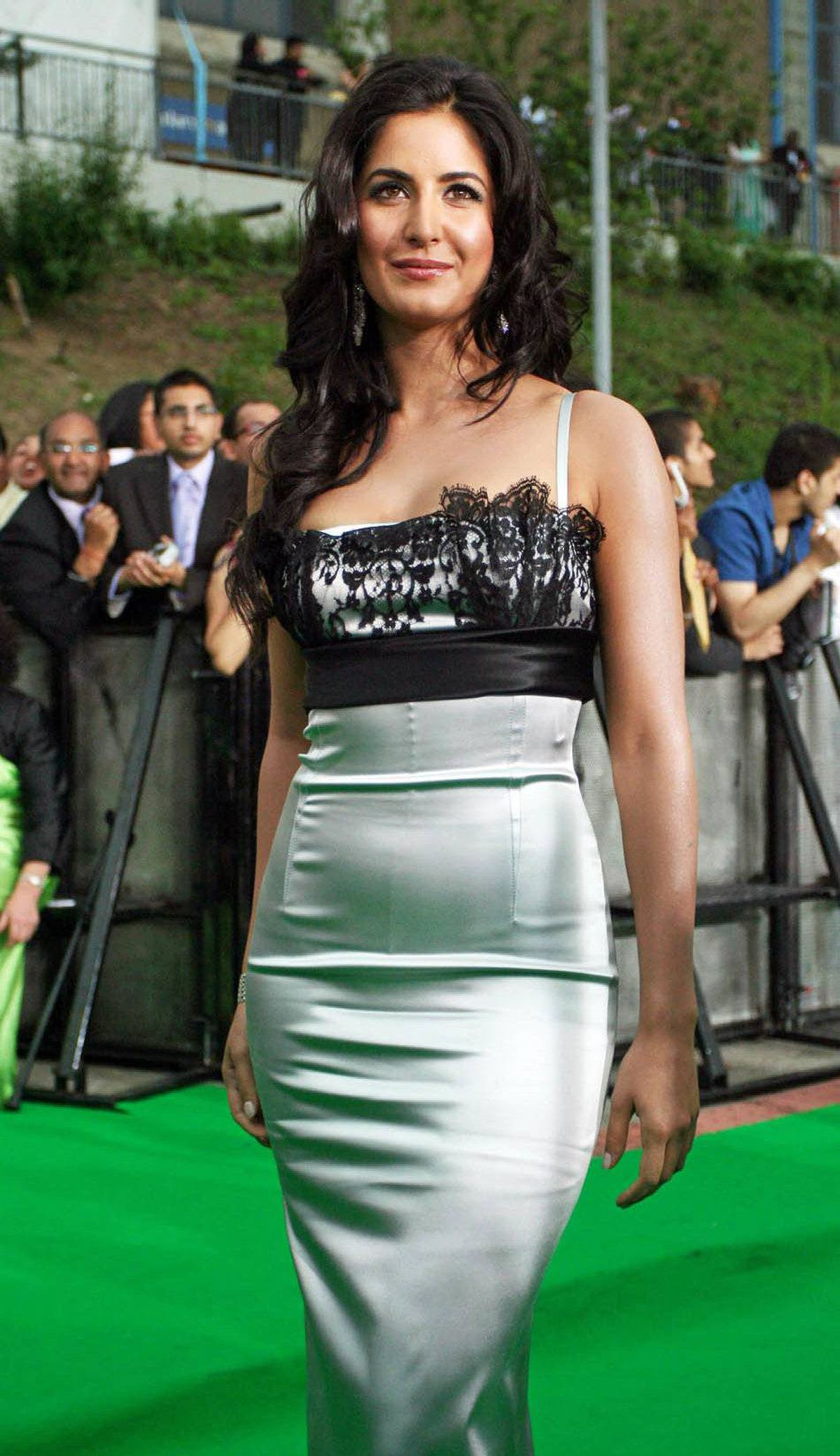 Katrina Kaif, shown during the 2009 festival, was noted for her role as a politician in Raajneeti and her dance number in Sheila ki jawani.