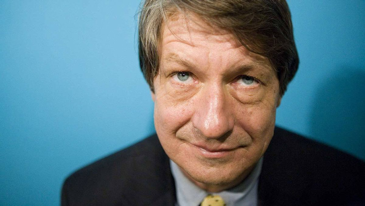P.J. O'Rourke poses for a photo after a reading in The Brigantine Room at the Harbourfront Centre on Wednesday, March. 21, 2007.