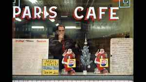 Herzog, Paris Cafe, 1959, inkjet print. Collection of the artist, Courtesy of Equinox Gallery