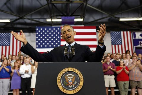 Obama's prompt start to the midterm campaign
