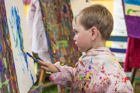 How to better talk to children about their art