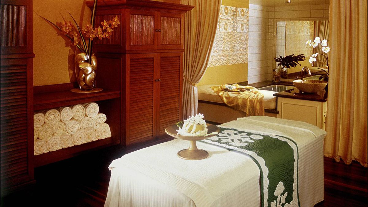 Privacy is an art form at the Kahala Spa in Oahu.