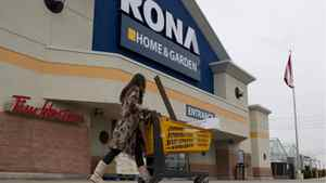 Rona is closing or downsizing 23 big-box stores, most of them in the highly competitive Ontario market.