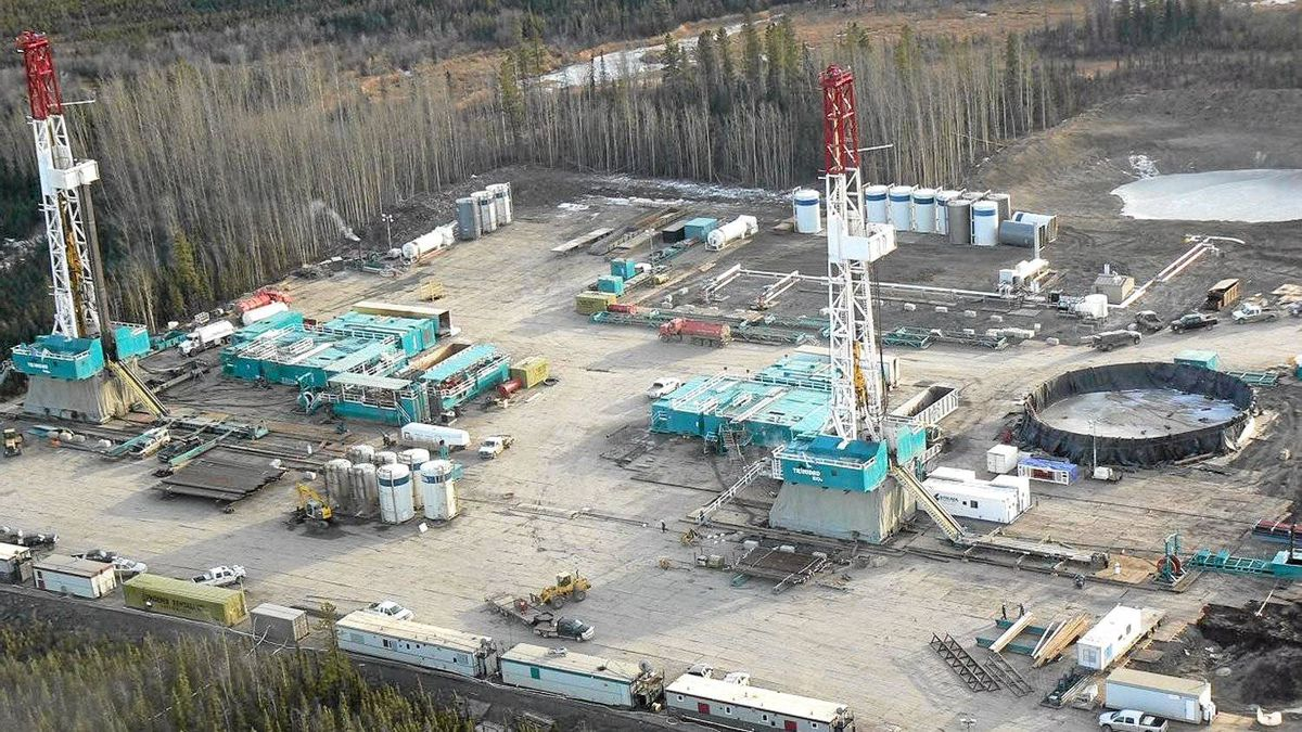 Encana's Horn River gas play